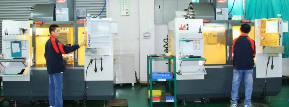 SYM precision machining shop