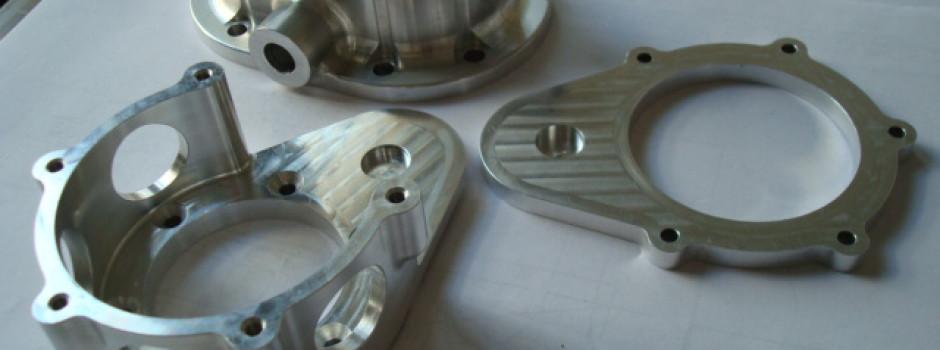 CNC machining process complex parts